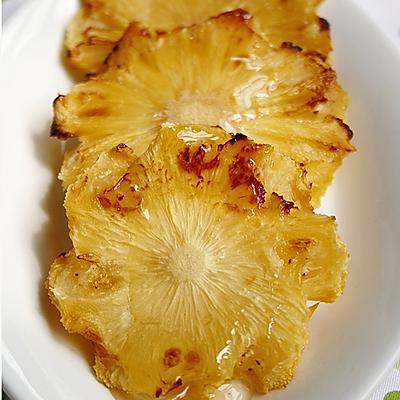 蜂蜜烤菠萝