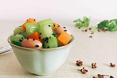 #爽口凉菜,开胃一夏!# 花椒油炝芹菜