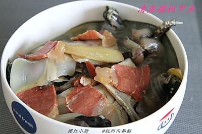 清蒸樱桃甲鱼