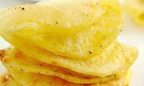 香脆薯片的做法