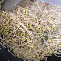 #花10分钟,做一道菜!#辣炒黄豆芽的做法图解6