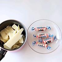 大白兔奶糖味的HelloKitty巧克力的做法图解1