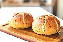 #营养小食光#蒜香奶酪包的做法