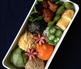 宝石饭团 - 2013-10-15 小朋友的午餐便当的做法