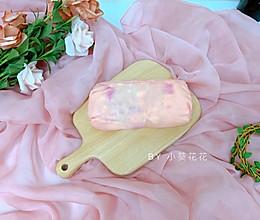 粉红火龙果毛巾卷的做法