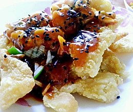 番茄脆鱼片的做法