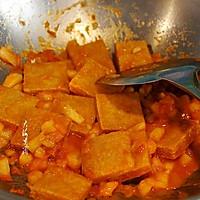 #花10分钟,做一道菜!#香煎冻豆腐的做法图解10