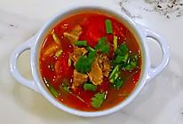 #我们约饭吧#西红柿炖牛腩,牛肉酥烂,汤汁酸甜可口的做法