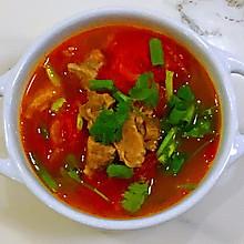 【孕妇食谱】西红柿炖牛腩,牛肉酥烂,汤汁酸甜可口