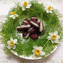 糯米粉嵌红枣,一道靓丽的冷菜