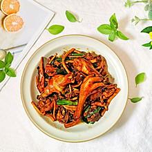#合理膳食 营养健康进家庭#茶树菇焖鸡