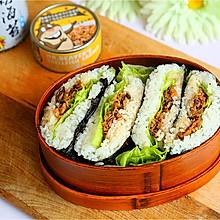 米饭三明治#福临门创意米厨#