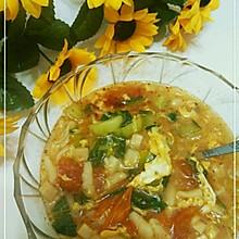 浓浓乡情的陕西烩麻食(猫耳朵)