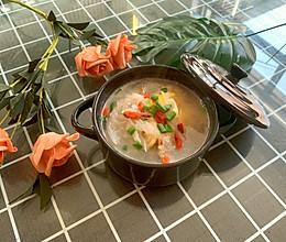 秋冬季节养生荷包蛋萝卜汤网红减脂汤的做法
