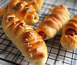 台湾风味香肠面包的做法