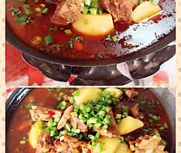 土豆排骨火锅的做法