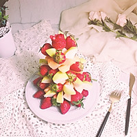 水果树 少女心的下午茶 宝宝喜欢的 节日拼盘