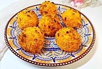 #合理膳食 营养健康进家庭#红薯芝士丸的做法