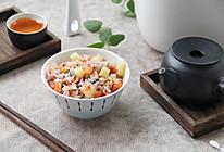 豌豆培根杂粮煲仔饭的做法
