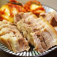 韩式辣白菜包肉