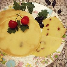 蔓越莓小松饼#莓汁莓味#