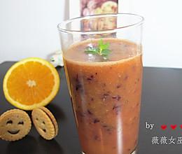 葡萄胡萝卜橙汁【强力抗氧化】的做法