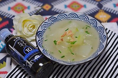 冬瓜海米汤