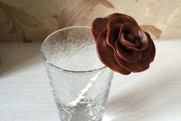 巧克力花的做法