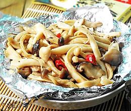 --锡纸烤蘑菇#大喜大牛肉粉试用之#
