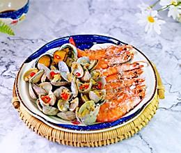#餐桌上的春日限定#盐焗海鲜的做法