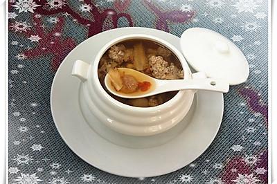 花旗参炖瘦肉汤