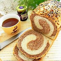 面包机版双色土司#东菱魔法云面包机#的做法图解16