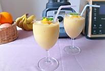 香蕉芒果冰沙的做法