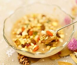 阿胶红枣玫瑰膳食粉的做法