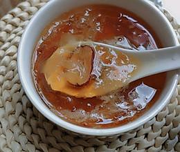 桃胶皂角米雪耳糖水的做法
