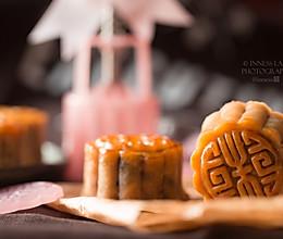 超豪华版超好吃的咸香【传统广式金腿五仁月饼】的做法