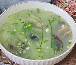 #美食新势力#黄瓜皮蛋汤的做法