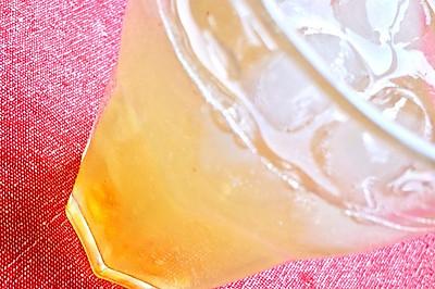 夏日。檸檬雪燕凍飲