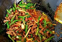 尖椒肉丝— 好吃炒肉丝的秘诀的做法