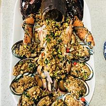 蒜蓉粉丝龙虾(波士顿)