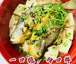 菜鸟逆天菜❗️鲜掉眉毛的大黄鱼的做法