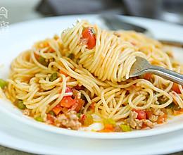 意式肉酱面-可以秒变主厨的意大利面的做法