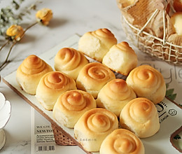 #快手又营养,我家的冬日必备菜品#蜂蜜脆底小面包的做法