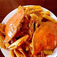 泰式咖喱蟹炒年糕
