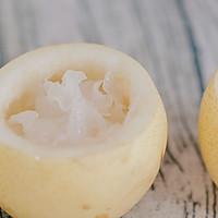 银耳炖梨盅的做法图解4