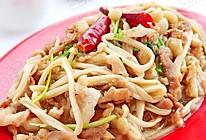 金针菇炒羊肉卷  的做法