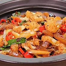 干锅花菜   小食刻