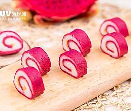 宝宝辅食:火龙果山药夹心小软饼的做法