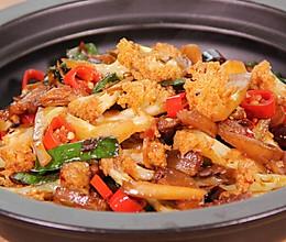 干锅花菜 | 小食刻的做法