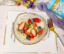 #四季宝蓝小罐#解馋又低脂的花生酱香椿拌凉皮的做法
